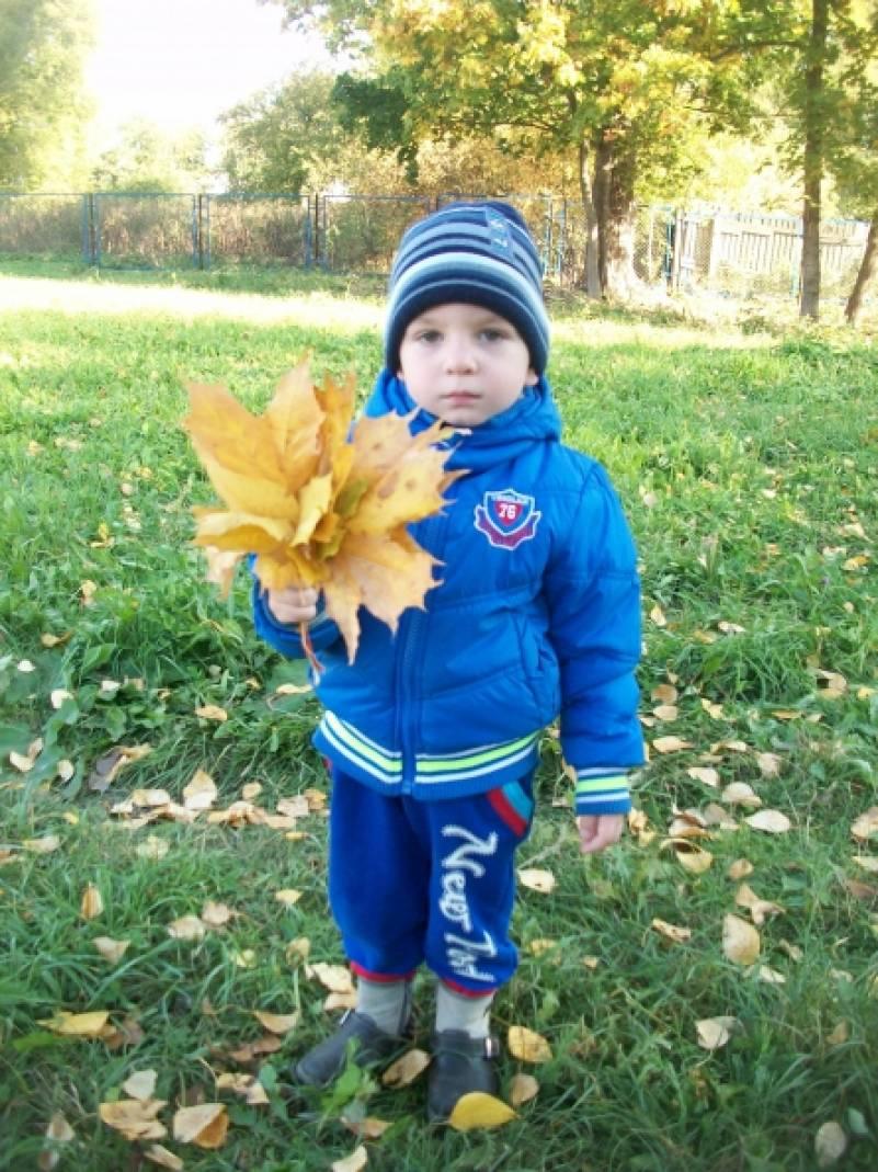 знакомство с осенью во второй младшей группе