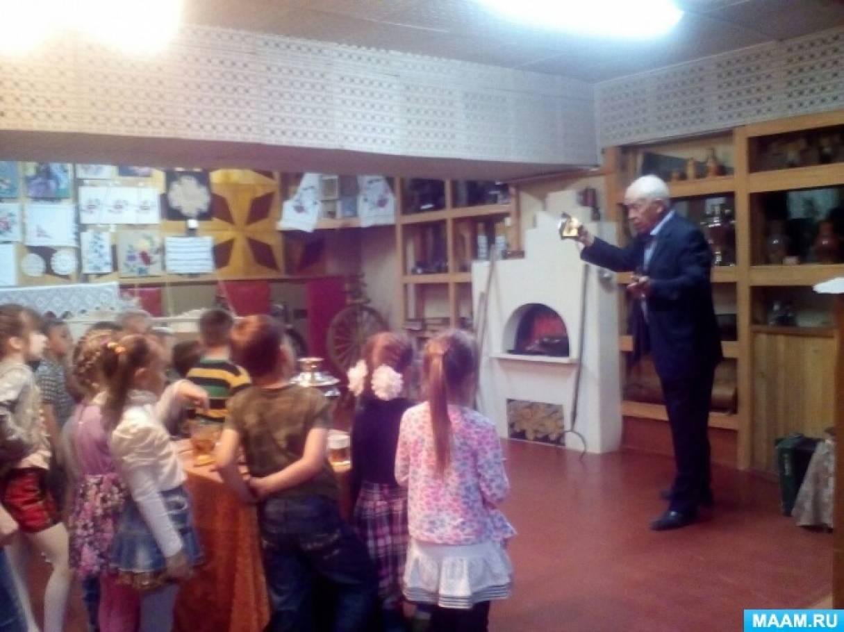 Знакомим с музеем. Фотоотчет об экскурсии с дошкольниками
