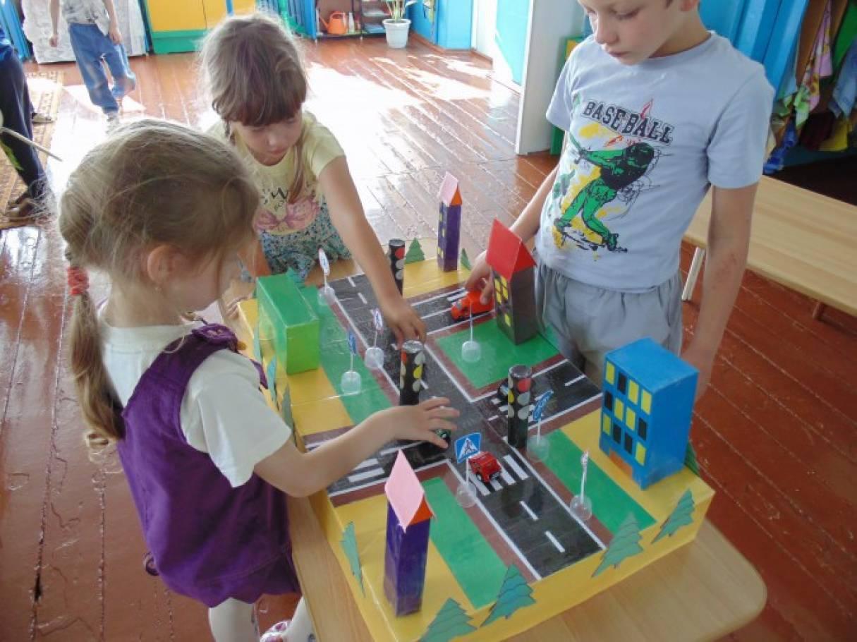 Проект по правилам дорожного движения для детей дошкольного возраста на тему «Школа для пешеходов»