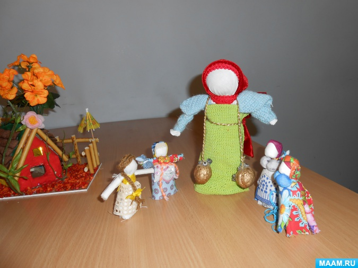 Детский исследовательский проект «Кукла— народная игрушка»