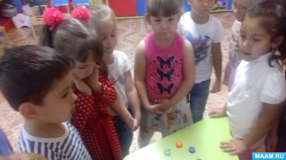 НОД по окружающему миру в старшей группе «Природа в детском саду»