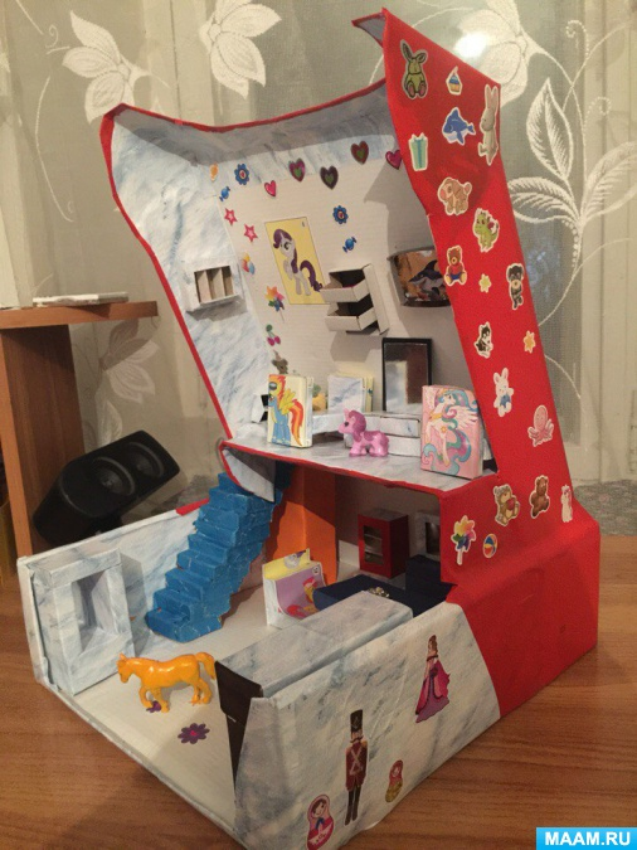 Мастер-класс «Кукольный домик для пони»