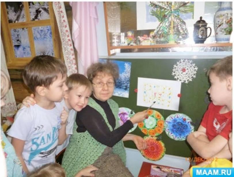 проект знакомство детей старшего дошкольного возраста с россией
