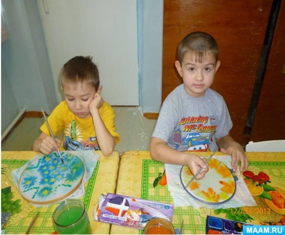 знакомство детей старшего дошкольного возраста с живописью