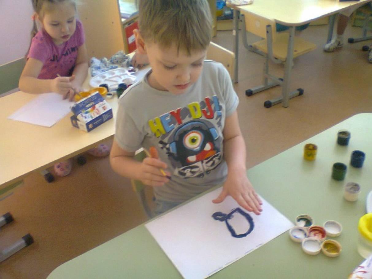 Конспект занятия по рисованию в средней группе рукавичка для зверей