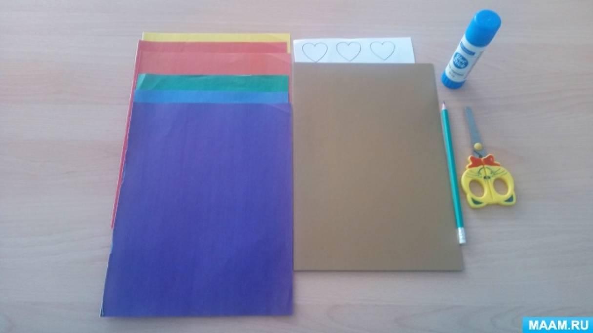 Мастер-класс по изготовлению подарка маме «Закладка для книг»