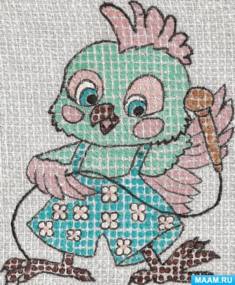 Рисуем по ткани с детьми 4–7 лет