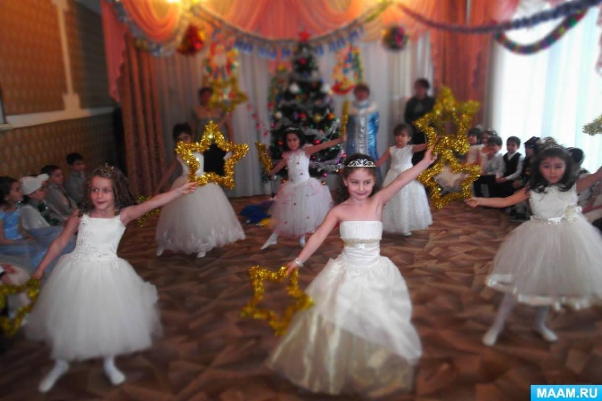 Фотоотчет «Новогодние праздники в нашем детском саду»
