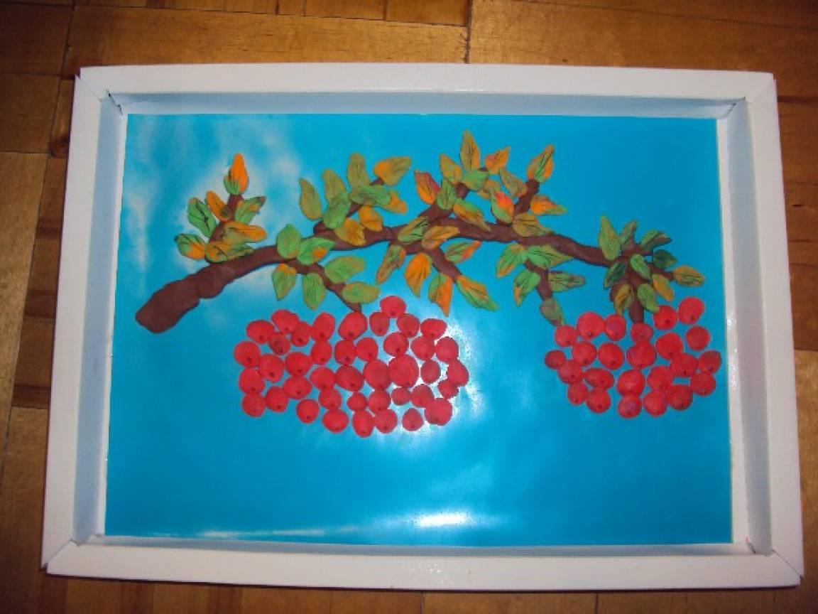 Поделки из пластилина в детский сад на тему осень 27