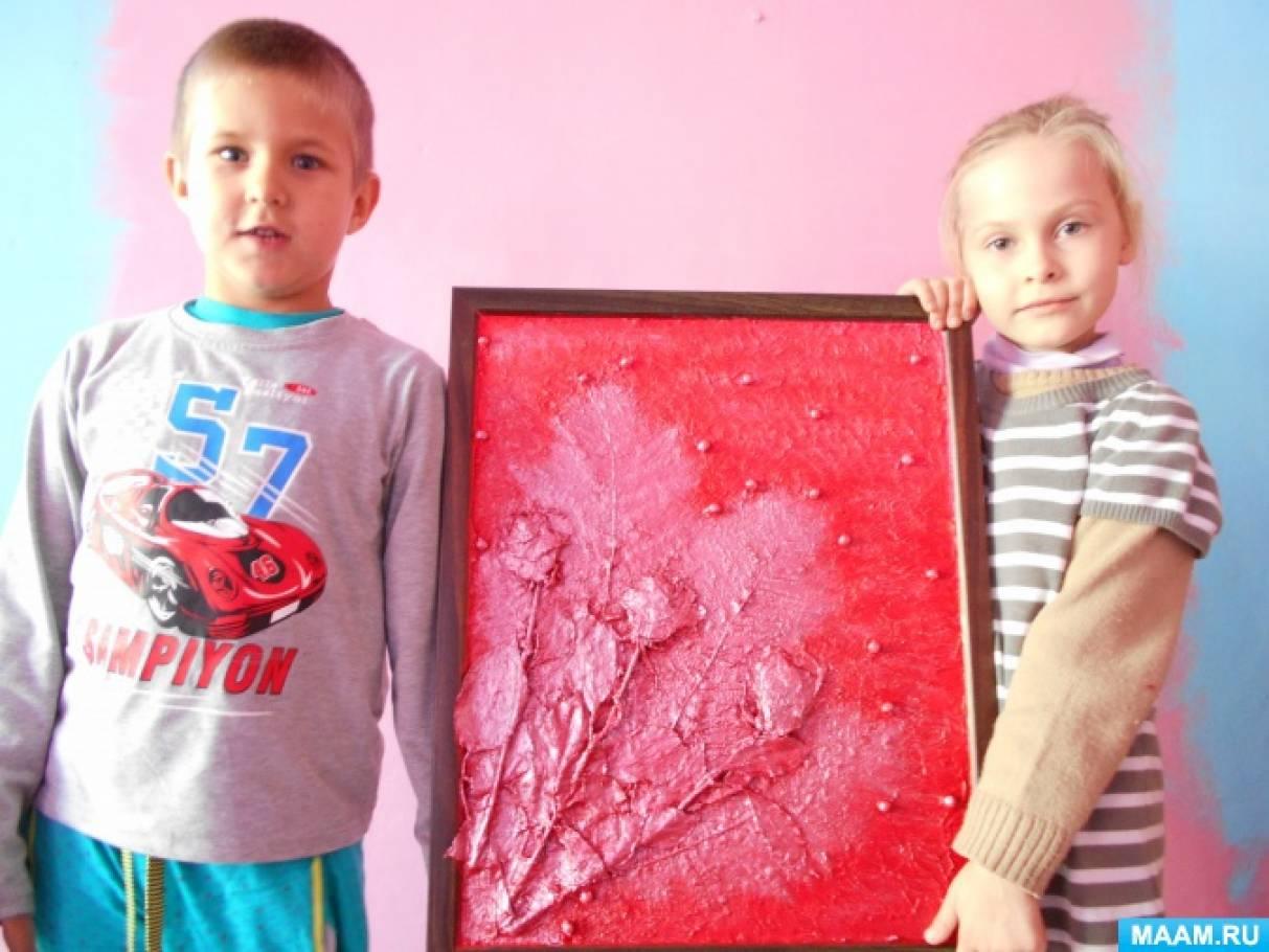 Флористика в детском саду. Композиция «Букет роз»
