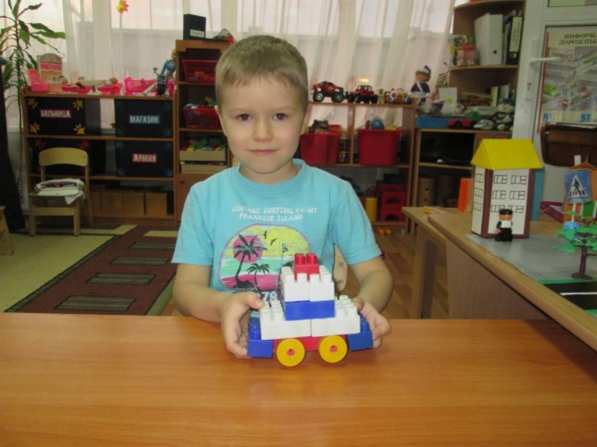 знакомство с транспортом для детей