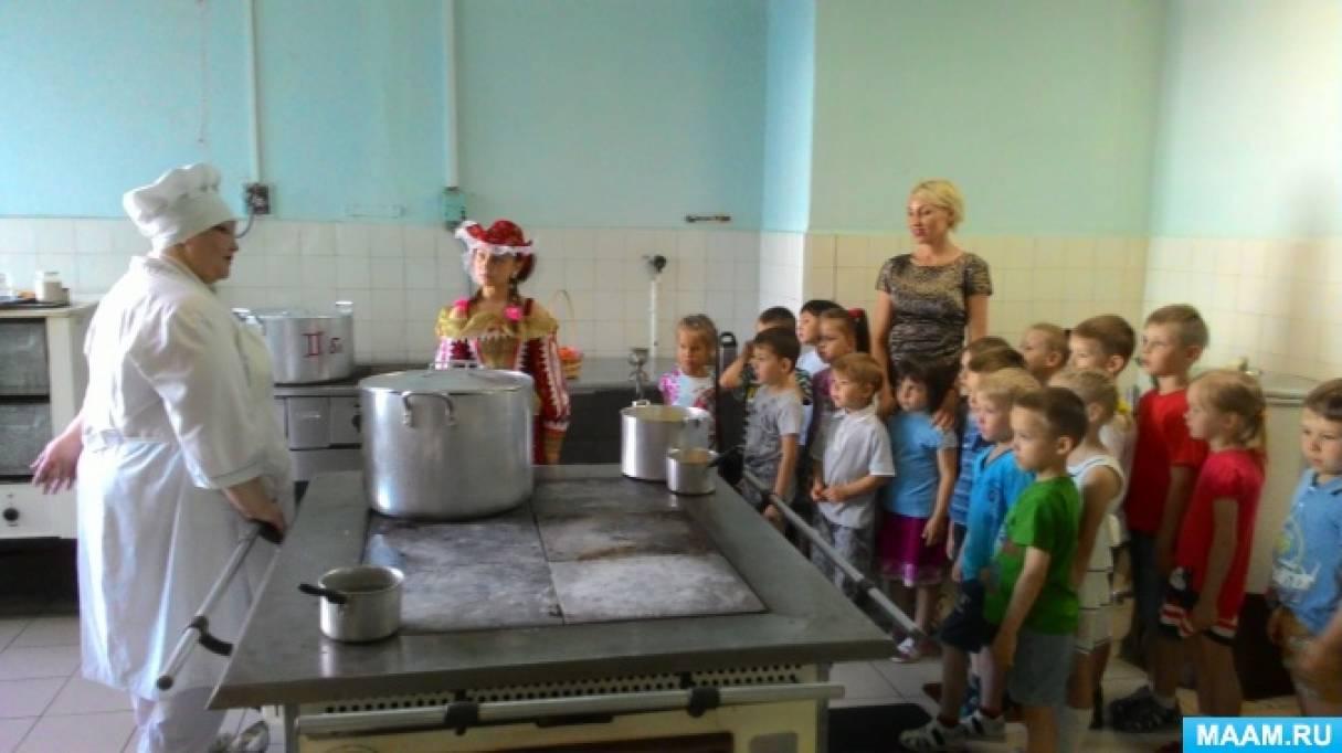Фотоотчет «Приготовление пирожного «картошка» на кухне ДОУ»