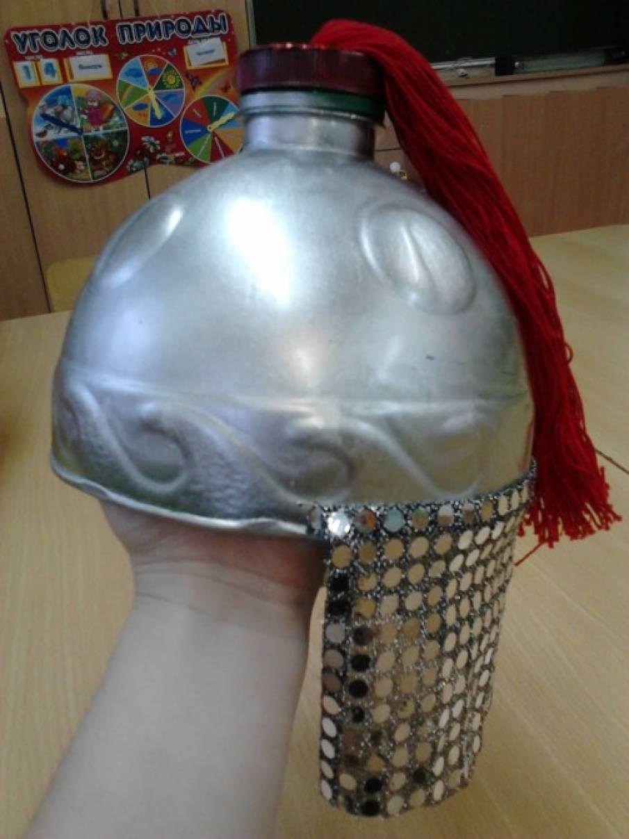 Шлемы для богатырей своими руками