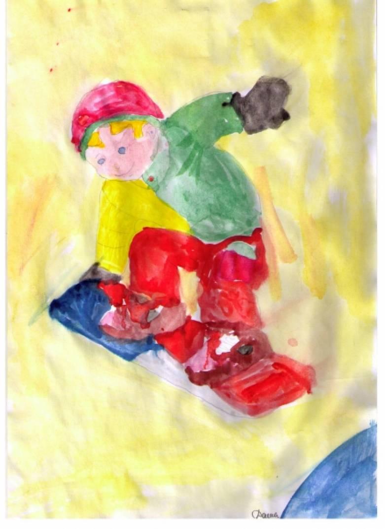 Зимние виды спорта для дошкольников