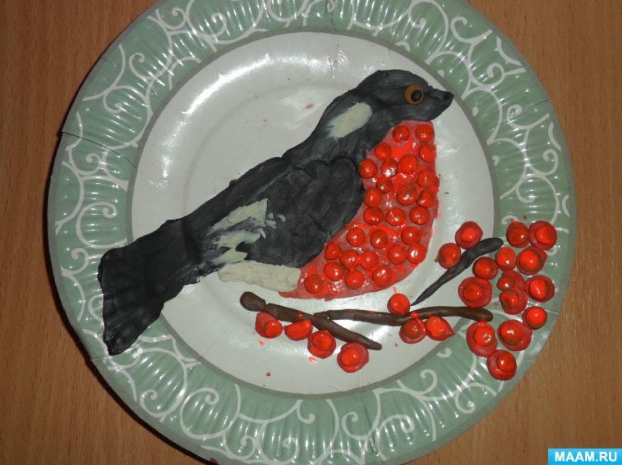 Поделки из пластилина на тарелки 75