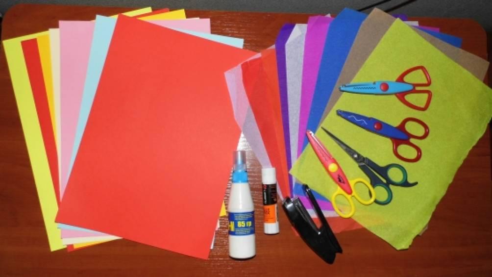 Проф, как сделать цветной картон для открыток