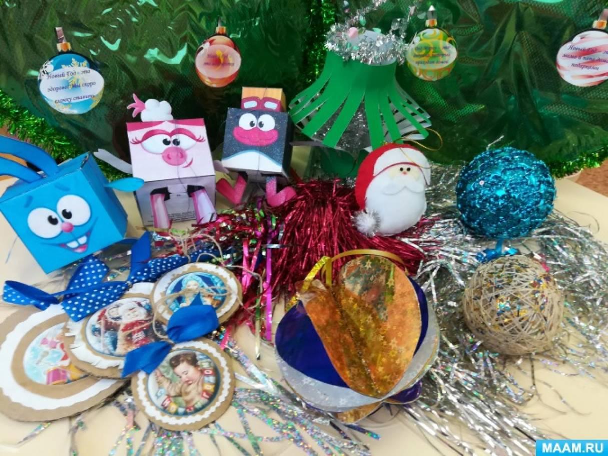 Праздник к нам идёт… Елочные игрушки своими руками