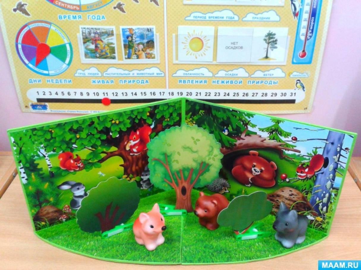 Игровые макеты природных сообществ «Лес», «Луг», «Водоём»