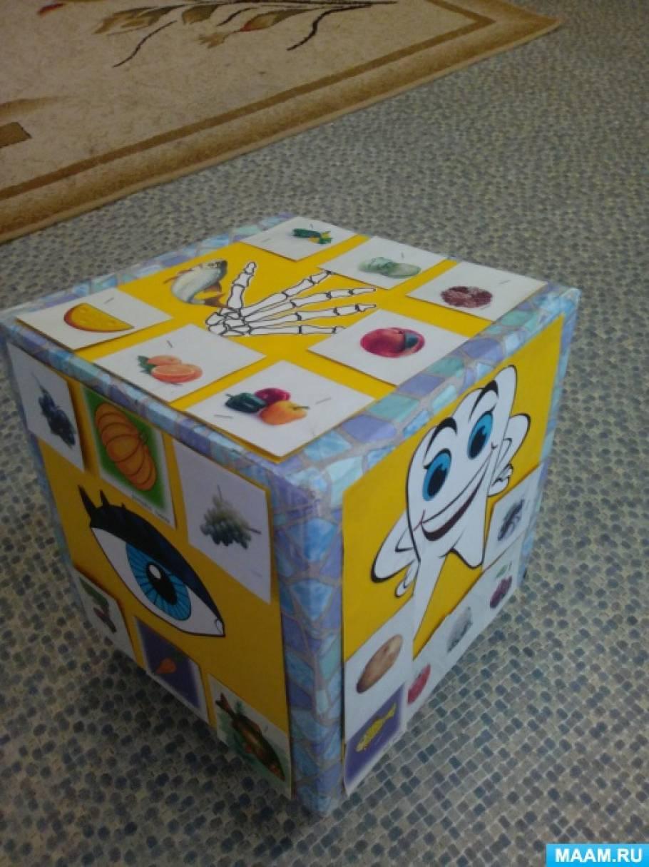 Наглядное пособие «Кубик здоровья»