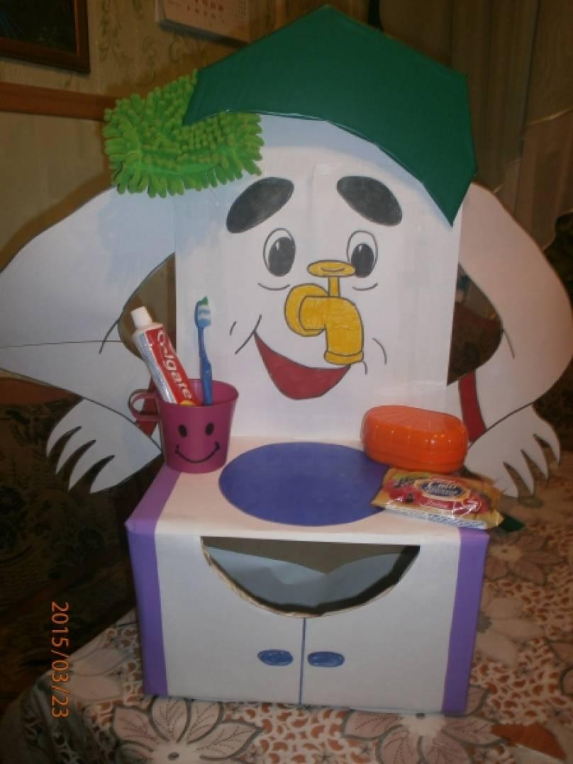 Мойдодыр своими руками для детского сада фото