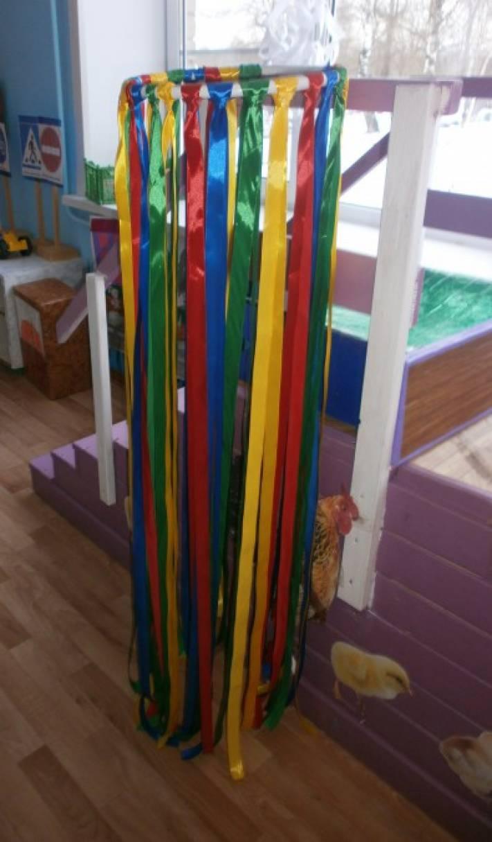 Сухой дождь своими руками в детском саду