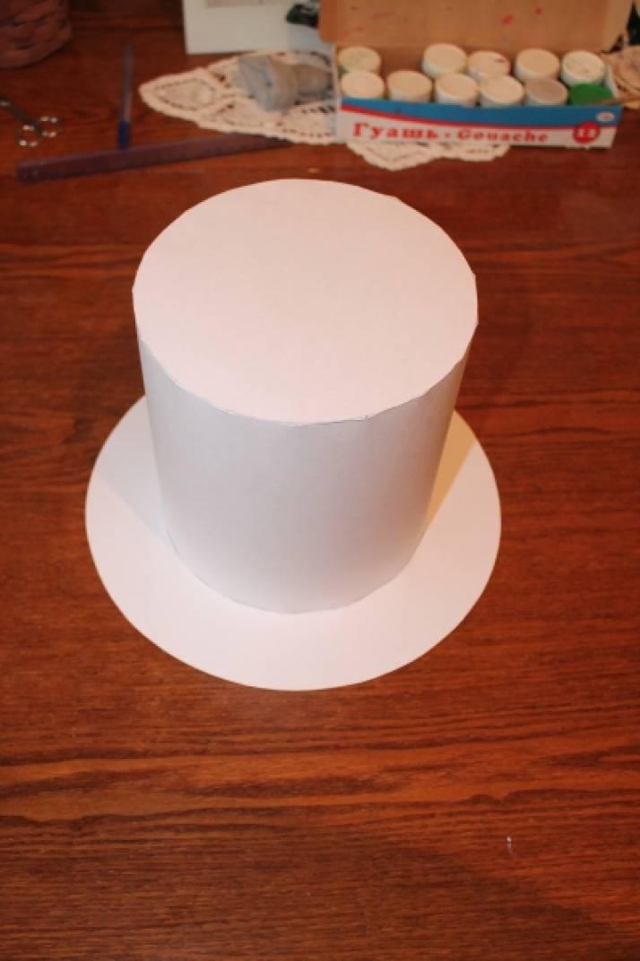 Мастер класс цилиндр шляпа своими руками из 75
