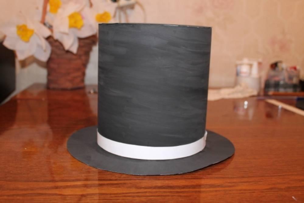 Мастер класс цилиндр шляпа своими руками из 71