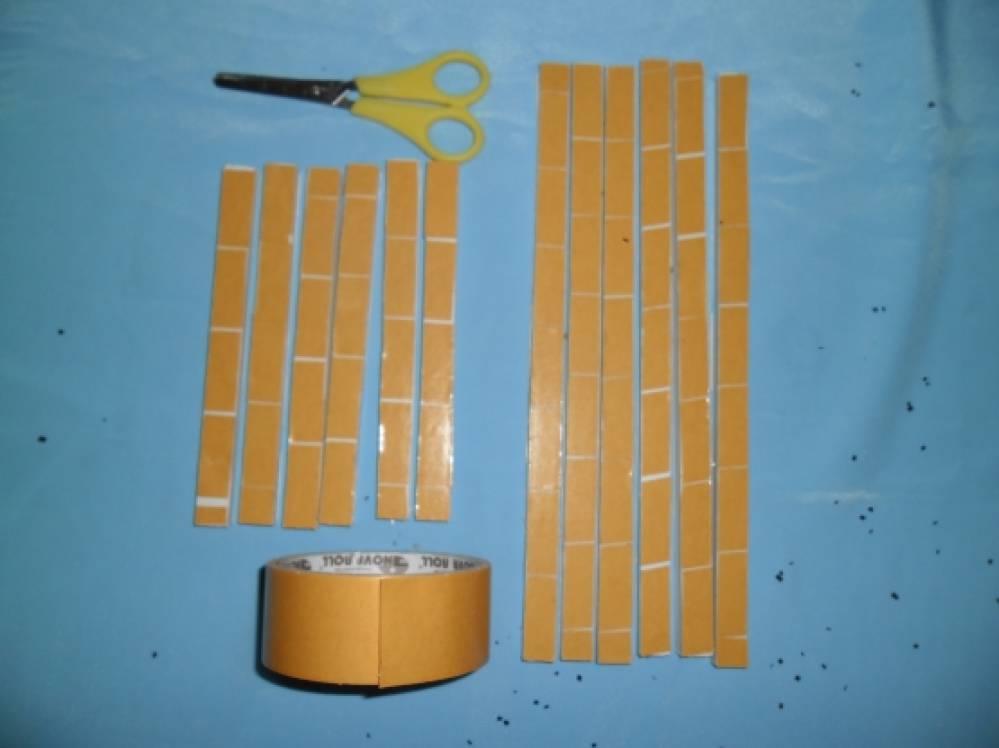 двухсторонний бумажный скотч прозрачный