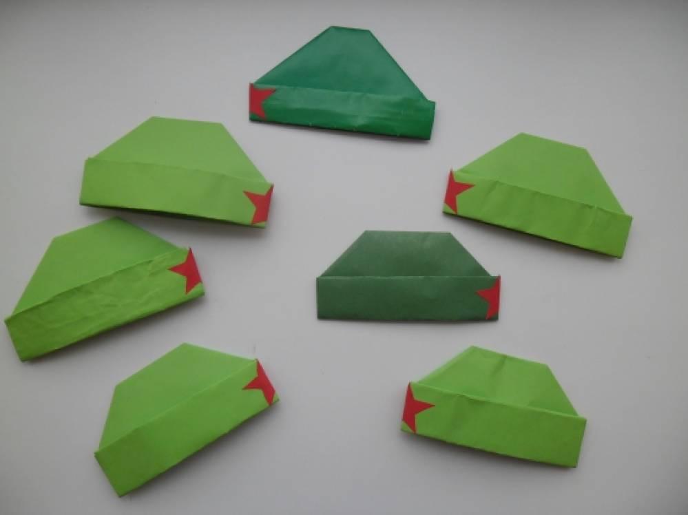 Как сделать пилотка из бумаги