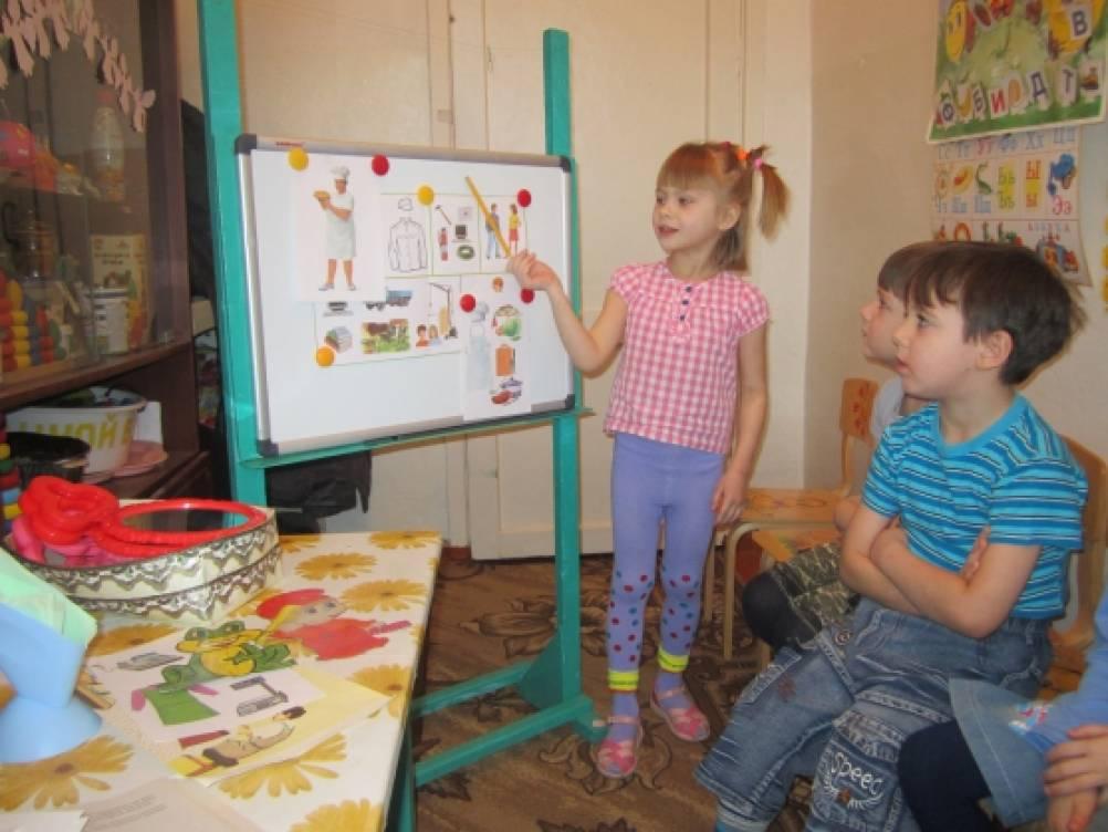 Рассказы детей о профессиях мам