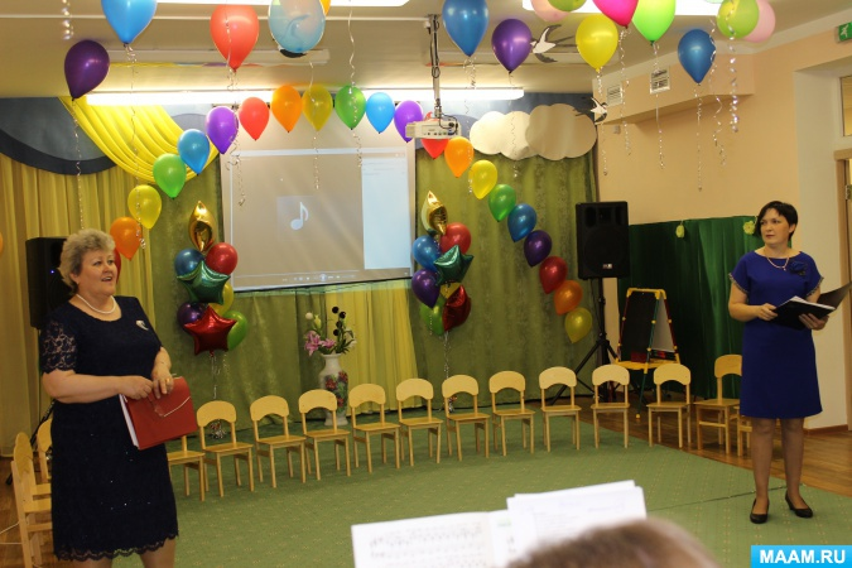 Выпускной в детском саду «Теремок на новый лад вам покажет детский сад»