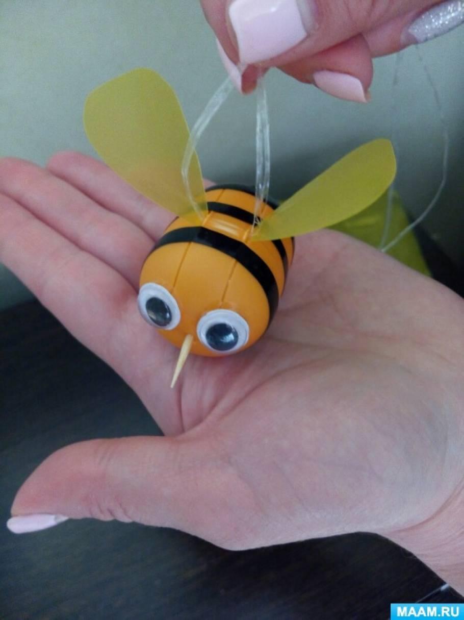 Из чего сделать пчелу своими руками 403