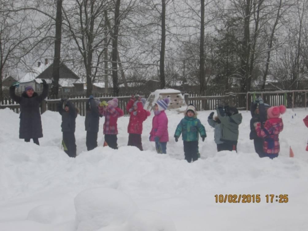 Сценарий праздника «Зимние забавы на улице»