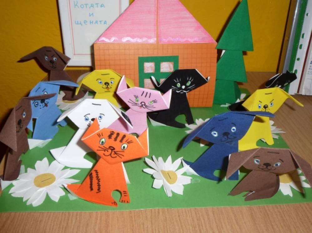 Нод старшая группа оригами
