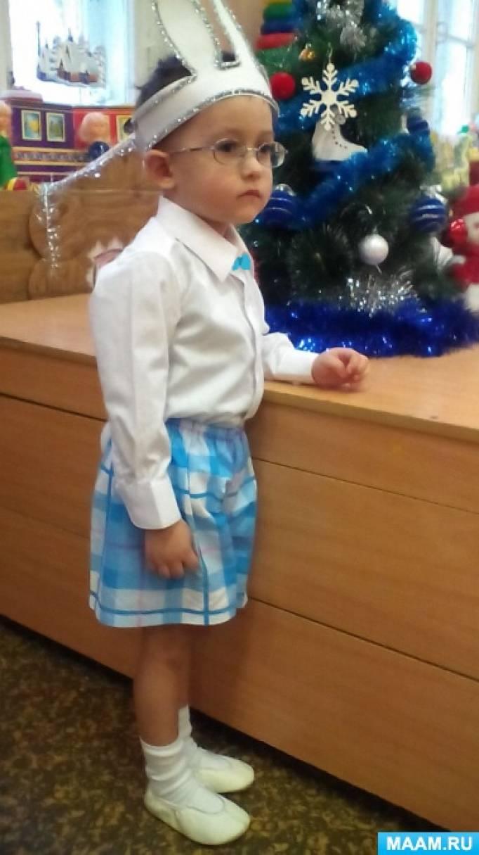 Новогодний костюм зайчика своими руками фото 225