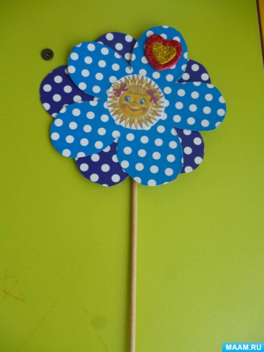 Поделка к 8 Марта «Цветок для мамы»