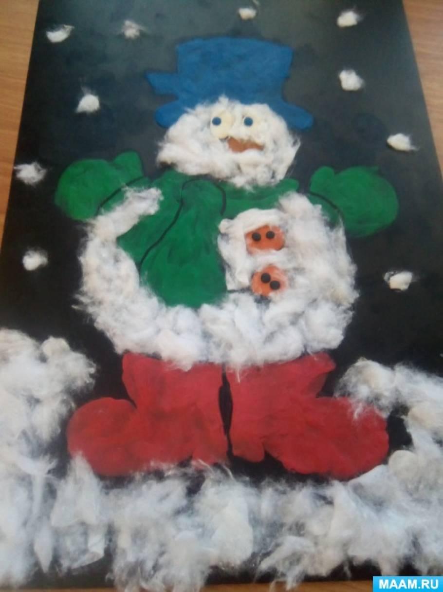 c251d47ec591 Поделка для конкурса «Снеговик». Воспитателям детских садов ...
