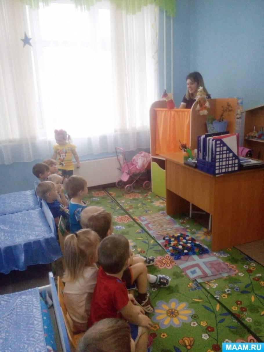 В гостях у сказки «Теремок»— фоторассказ о приобщении детей к театру, кукольный театр в детском саду