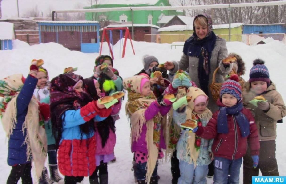 Сценарий развлечения в детском саду на прогулке «Сороки»