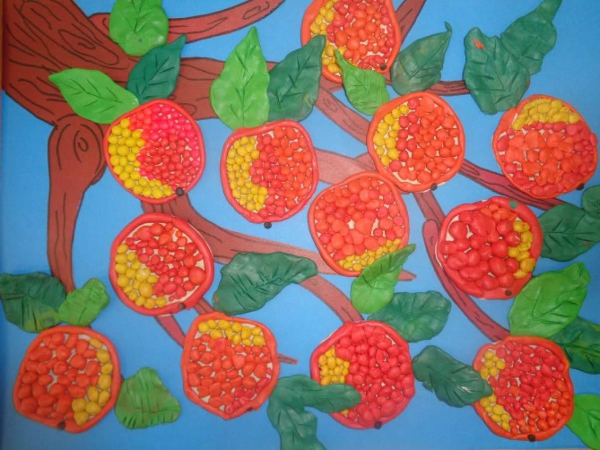 очень понравилось, лепка фрукты в подгот гр картинки порадовала поклонников фотографией