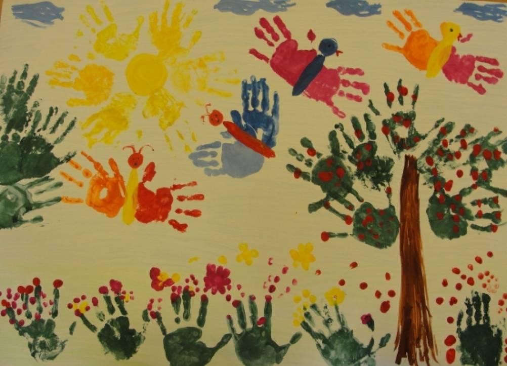 Схемы для нетрадиционного рисования для детского сада
