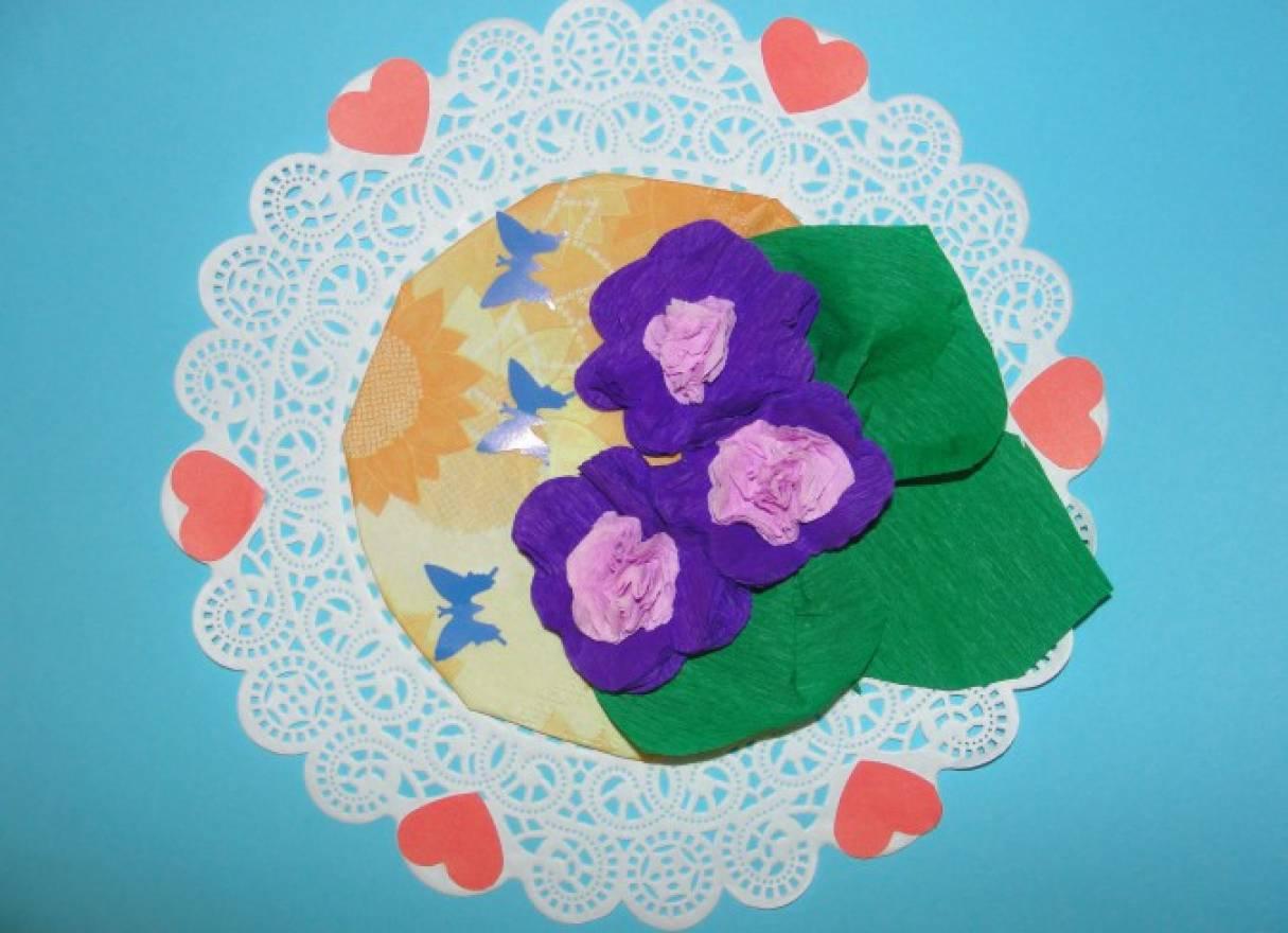 Открытка для бабушки 8 марта мастер класс, открытки добрый вечер