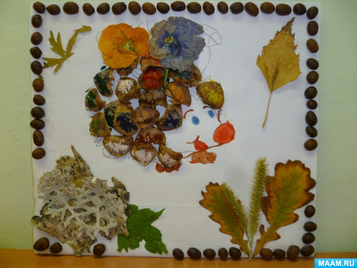 Конкурс поделок «Осенние чудеса природы»