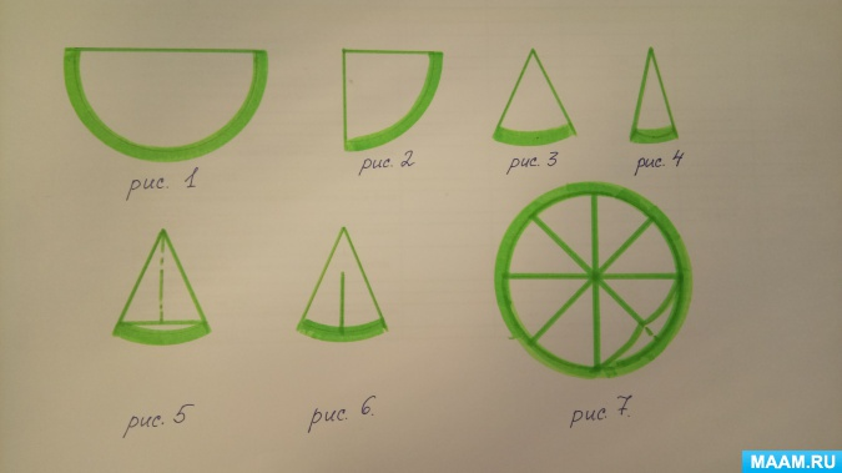 Конспект занятия по оригами в старшей группе «Звезда»