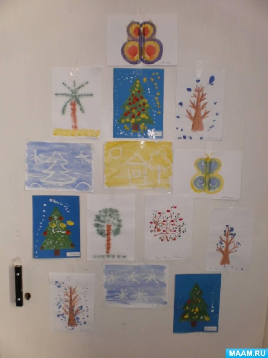 знакомство с нетрадиционными техниками рисования и их роль в развитии детей