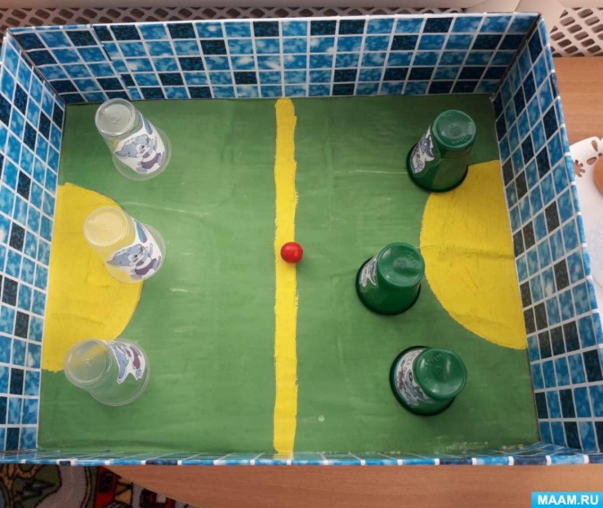 Игра «Футбол: веселые игроки»