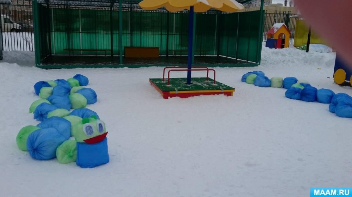 Поделки из снега на участке детского сада своими руками фото 100