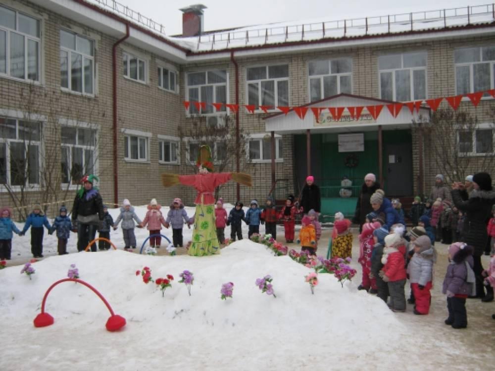 «Как на масленой неделе…» праздник на улице для детей детского сада