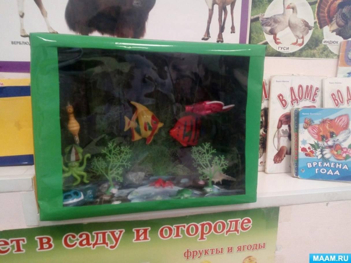 Макет аквариума для уголка природы