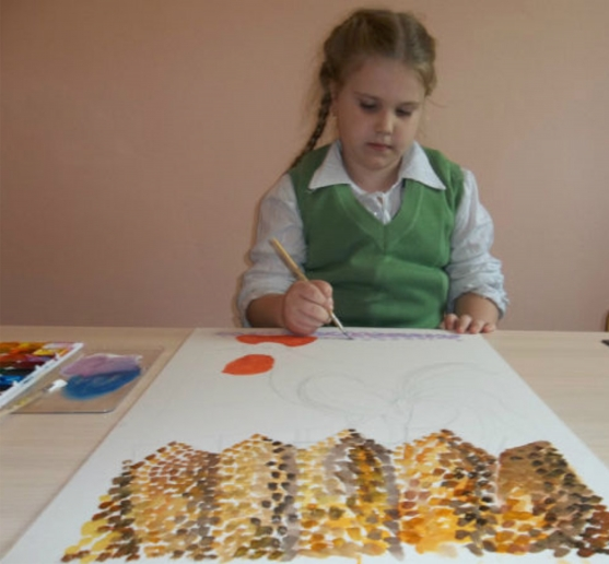 конспект занятия по рисованию знакомство с красками